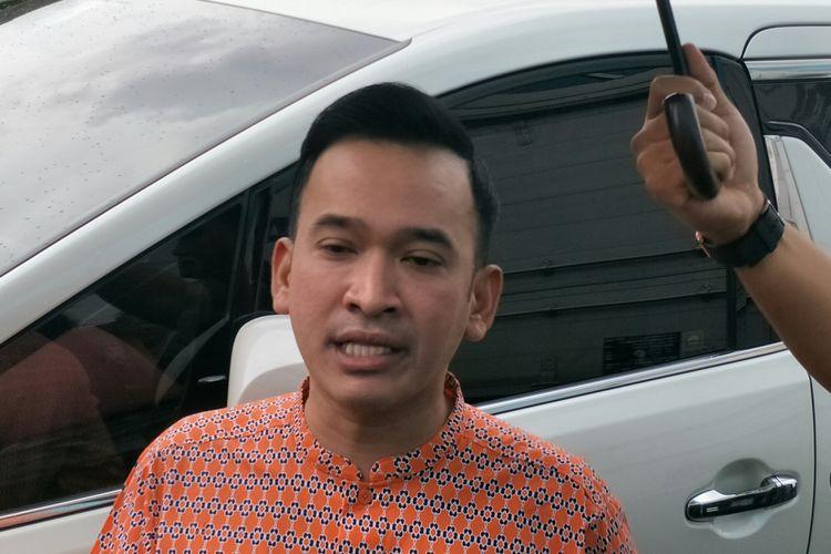 Ruben Onsu saat ditemui di kawasan Tendean, Jakarta Selatan, Kamis (20/2/2020)