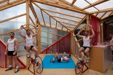 Desain Rumah Ringan, Cocok untuk Berolahraga!