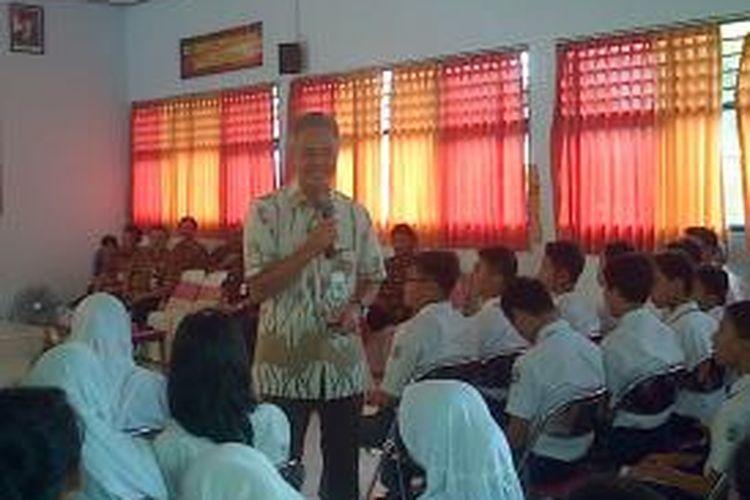 Gubernur Jawa Tengah Ganjar Pranowo dalam acara