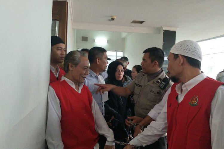 Sidang vonis lima terdakwa kerusuhan 21-22 Mei di Pengadilan Negeri Jakarta Pusat ditunda Selasa (8/10/2019).