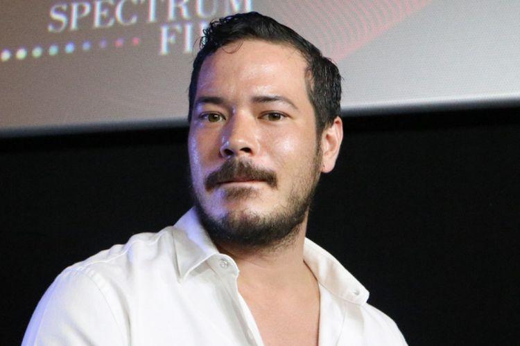 Artis peran Zack Lee dalam sesi wawancara di Gala Premiere Film Jaga Pocong di CGV Grand Indonesia, Thamrin, Jakarta Pusat, Senin (22/10/2018).