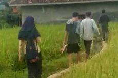 Diduga Mesum di Gubuk Sawah, Pasangan SMP Ini Digerebek Warga, Orangtua Dipanggil