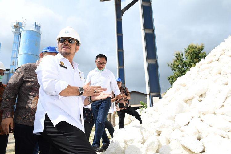 Menteri Pertanian (Mentan) Syahrul Yasin Limpo dalam suatu kesempatan.