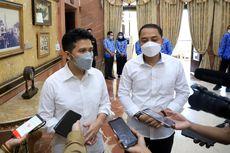 Emil Dardak Temui Eri Cahyadi di Balai Kota Surabaya, Apa Saja yang Dibahas?