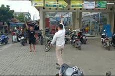 Fakta Viral Video Pria Acungkan Pisau Saat Diamankan Polisi, Berawal dari Ancam Bunuh Ibu Kandung