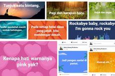 Ramai Status Teks Berlatar Foto di Facebook, Cara Mencobanya?