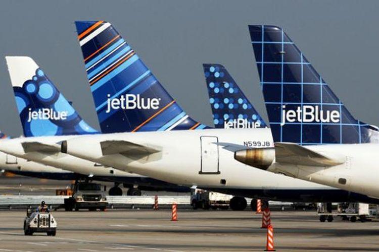 Tailfin maskapai LCC AS, JetBlue.