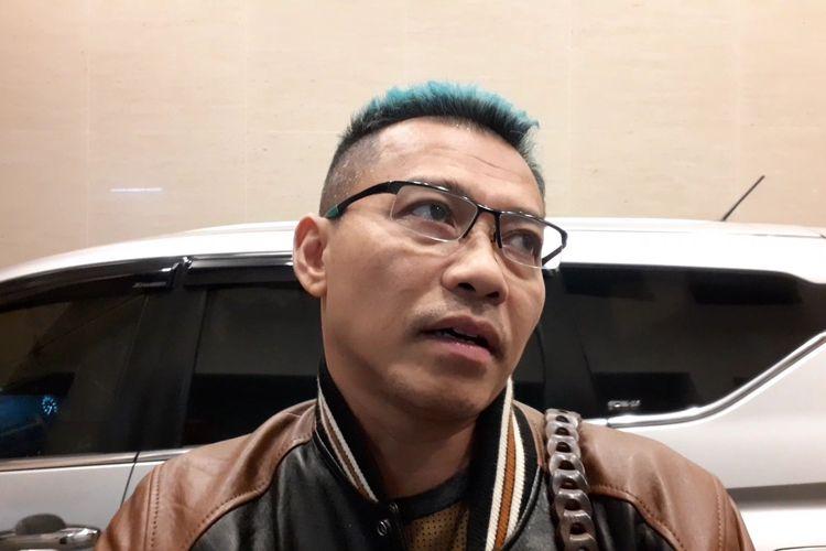 Anang Hermansyah saat ditemui usai babak Spektakuler Show Top 4 di Studio RCTI, Kebon Jeruk, Jakarta Barat, Senin (11/2/2020).