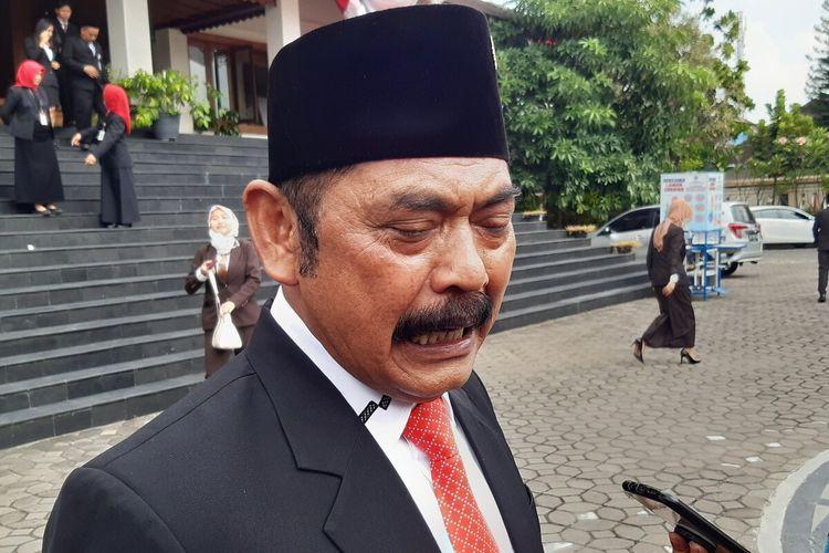 Wali Kota Solo, FX Hadi Rudyatmo di Solo, Jawa Tengah, Jumat (14/8/2020).