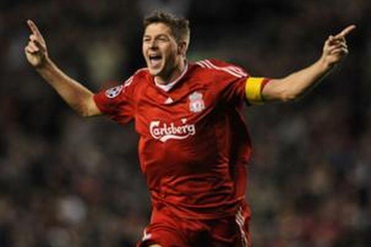 Kapten Liverpool, Steven Gerrard.