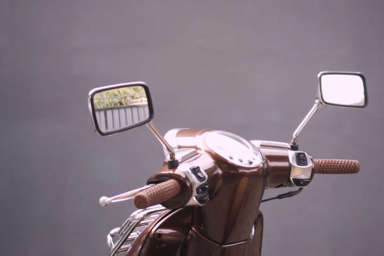 Modifikasi Peugeot Django milik Atenx Katros