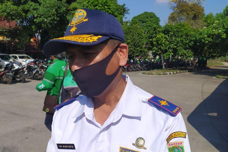 Kepala Dinas Provinsi Banten Tri Nurtopo saat ditemui di Terminal Poris Plawad Kota Tangerang, Jumat (17/7/2020).