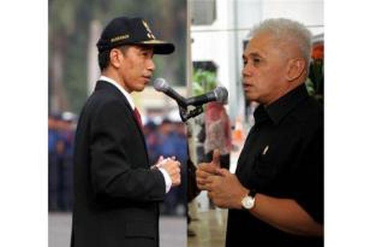 Gubernur DKI Jakarta, Joko Widodo dan Menko Perekonomian Hatta Rajasa