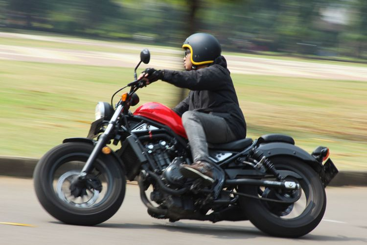 Test ride Honda CMX500 Rebel