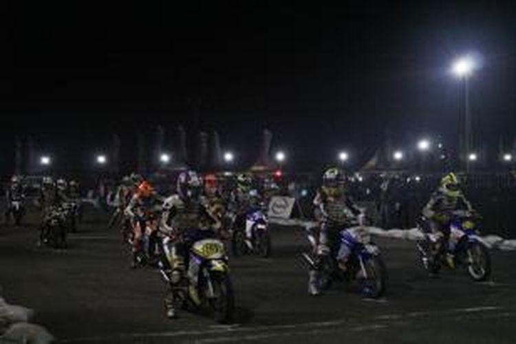 Tradisi Balapan Malam Yamaha Cup Race Di Makassar Halaman All