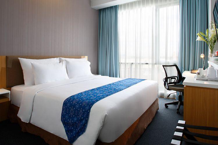 Kamar di Hotel GranDhika Medan