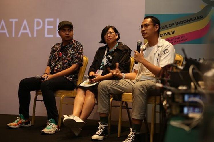 Pemerintah Provinsi Daerah Khusus Ibukota (DKI) Jakarta bersama Katapel.ID menggelar acara Katapel Jakarta untuk memperkenalkan industri lisensi kepada para pelaku bisnis kreatif di Indonesia.