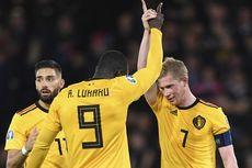 Hasil Kualifikasi Euro 2020, De Bruyne 3 Assist, Belgia Menang Telak
