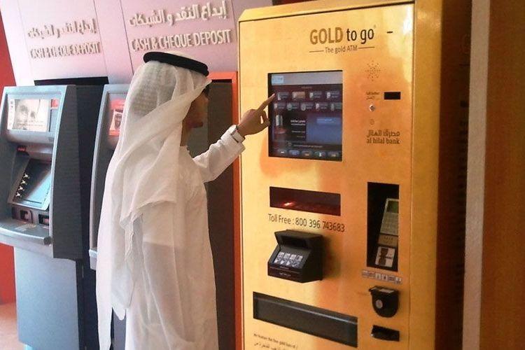 Vending Machine Gold to Go yang menjual emas