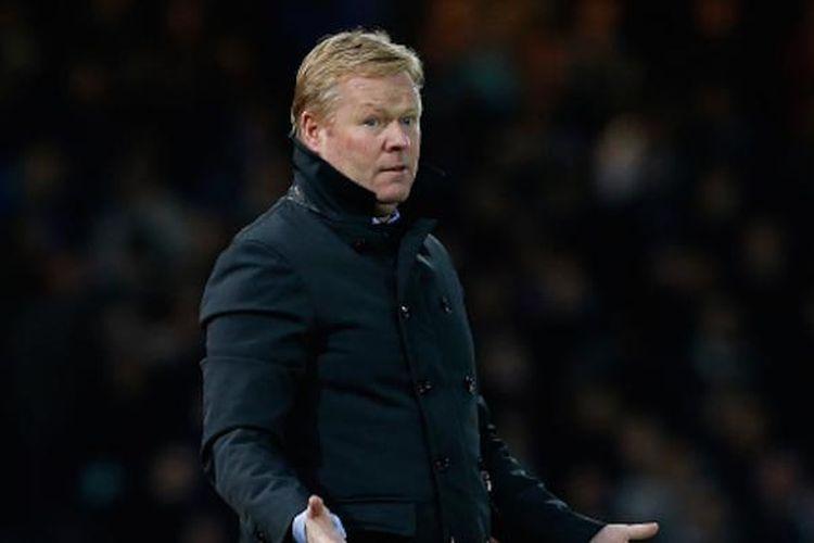 Ronald Koeman, saat masih menangani Everton.