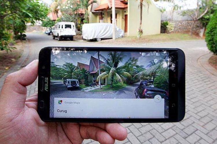 Aplikasi terbaru peta digital Google Street View yang dilengkapi teknologi foto 360 derajat. Aplikasi ini dijalankan melalaui sistem operasi Android dan dapat diunduh gratis, Kamis (1/10/2015).