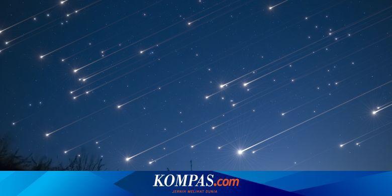 Hujan Meteor Orionids Bisa Disaksikan Malam Ini, A