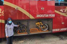 BPTJ Sediakan Bagasi Gratis untuk Sepeda Lipat di Bus JR Connexion