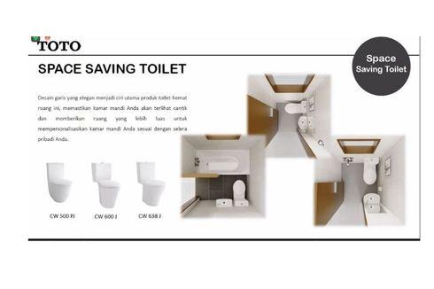 TOTO Tawarkan Toilet Minimalis untuk Kamar Mandi Sempit