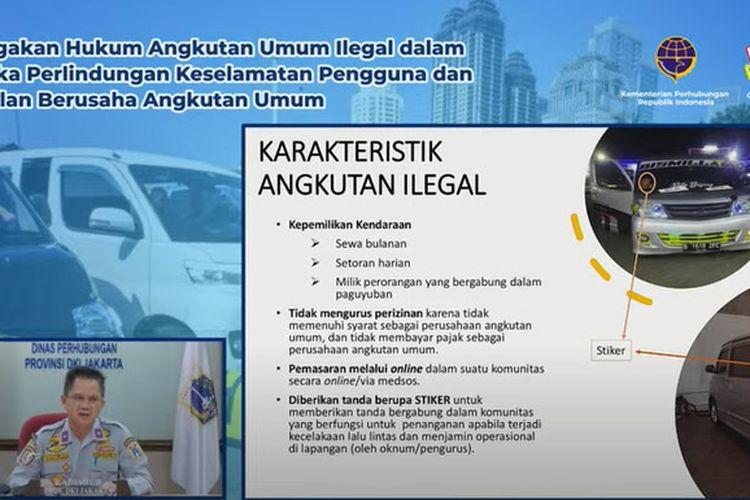 Ciri-ciri ankutan umum ilegal