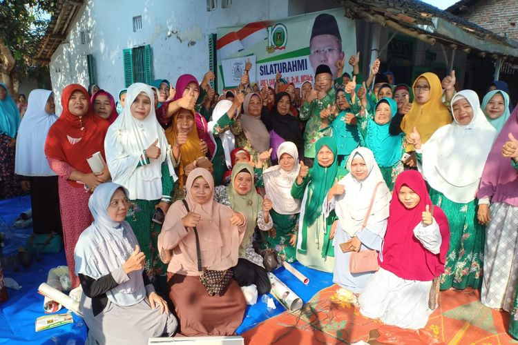 Kampanye calon anggota legislatir DPR RI dapil Jawa Tengah X Arsul Sani