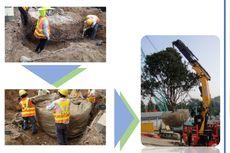Begini Cara MRT Jakarta Relokasi Pohon di Monas dan Thamrin yang Terkena Proyek