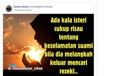 Firasat Istri Korban Pembunuhan di Sungai Cimpu, Sempat Tulis Status untuk Suami di Facebook