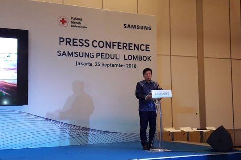 Bangun 500 Hunian Sementara di Lombok, Samsung Donasikan Rp 1,5 Miliar