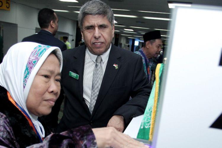 Lewat Makkah Route semua prosedur kedatangan atau keimigrasian, seperti biometrik, sidik jari dan lainnya cukup dilakukan di Indonesia.