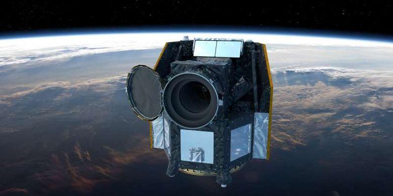 Ilustrasi teleskop luar angkasa CHEOPS. CHEOPS adalah misi bersama European Space Agency (ESA) di Swiss di bawah naungan Universitas Bern dan bekerja sama dengan Universitas Jenewa.