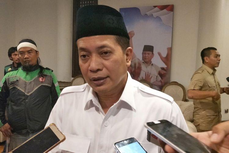 Wakil Direktur Relawan Badan Pemenangan Nasional (BPN) Ferry Juliantono saat ditemui di kantor sekretariat BPN, Jalan Kertanegara, Jakarta Selatan, Jumat (14/12/2018).