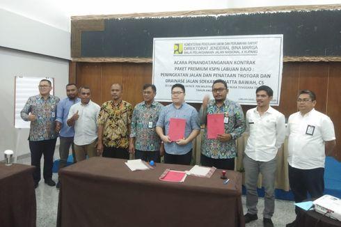 Kontrak Paket Infrastruktur KSPN Premium Labuan Bajo Ditandatangani
