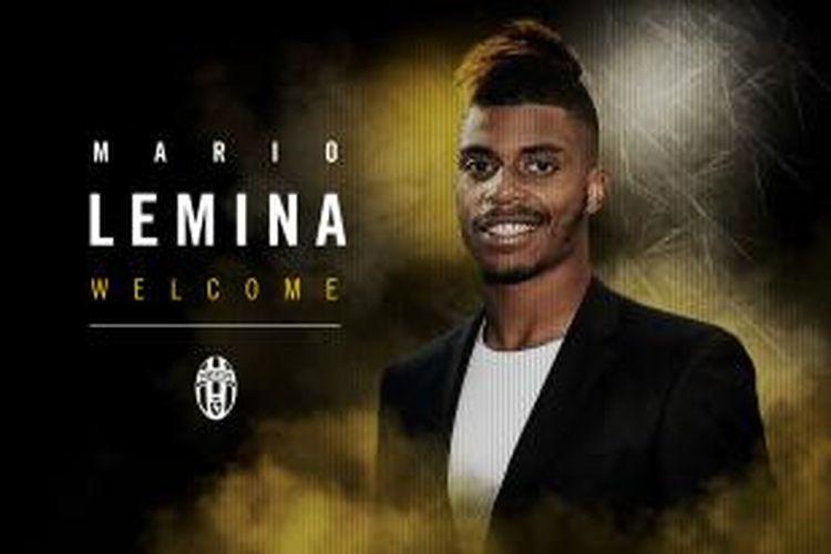Juventus mengumumkan perekrutan Mario Lemina, Senin waktu setempat atau Selasa (1/9/2015) dini hari WIB.