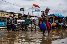 Banjir Rob di Muara Angke Disebabkan Lumpur hingga Cor Beton yang Sumbat Selokan