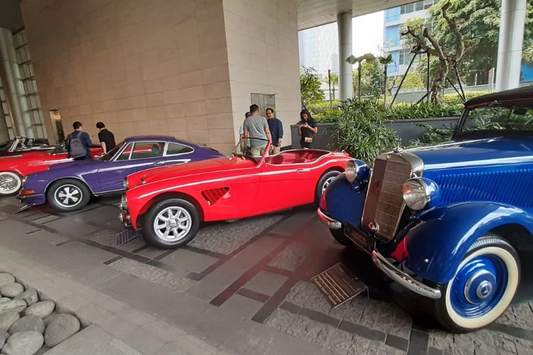 Concours dElegance yang digelar oleh Indonesia Classic Car Owners Club (ICCOC).
