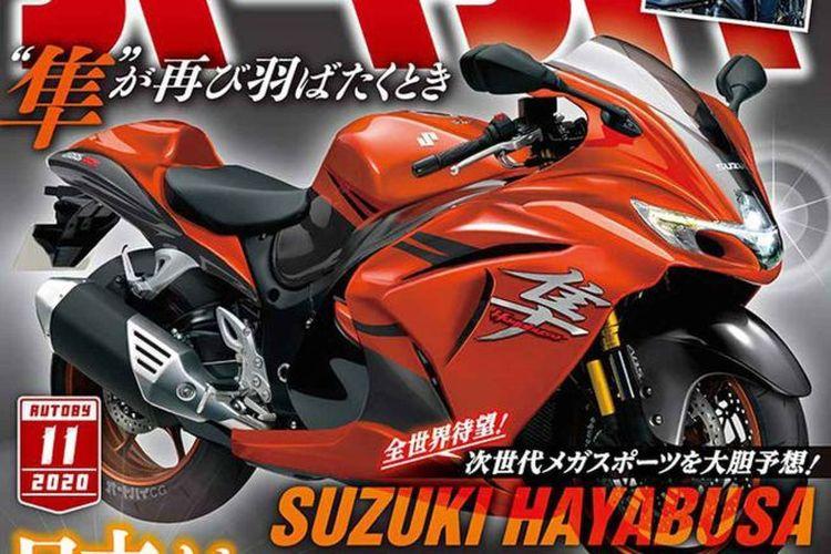 Rumor Suzuki siapkan generasi baru Hayabusa