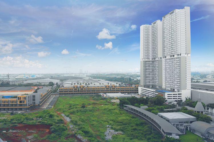 PT Sirius Surya Sentosa memulai sera terima apartemen Vasanta Innopark Tower Aoki dan Botan, Senin (08/03/2021).