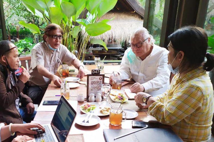 Universitas Prof. Dr. Moestopo (Beragama) Jakarta dan ISBI Bandung, melakukan kolaborasi pembelajaran sebagai wujud nyata pelaksanaan Kampus Merdeka.