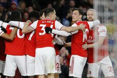 Arsenal Vs Everton, The Gunners Menang dengan Skor Tipis 3-2