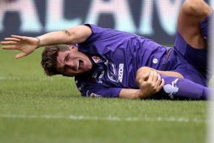Striker Fiorentina, Mario Gomez.