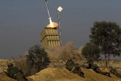 AU Israel Serang Gudang Senjata dan Lokasi Peluncuran Roket Palestina