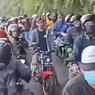 Viral Video Puncak Gunung Telomoyo Ramai dengan Pemotor