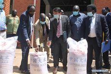 China Beri Bantuan Pangan 3.000 Ton Lebih Beras untuk Sudan Selatan