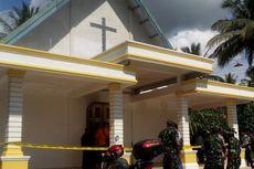 Pintu dan Lantai Gereja di Poso Dibakar Orang Tak Dikenal
