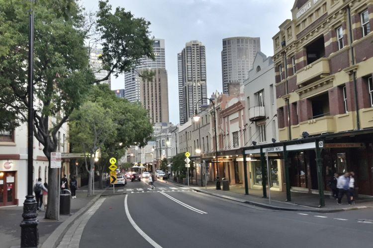 Sudut kota Sydney, Australia.